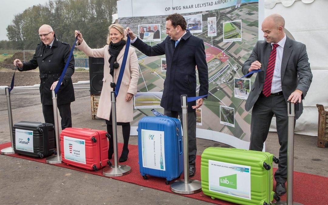 Eerste deel Anthony Fokkerweg naar Lelystad Airport gaat open