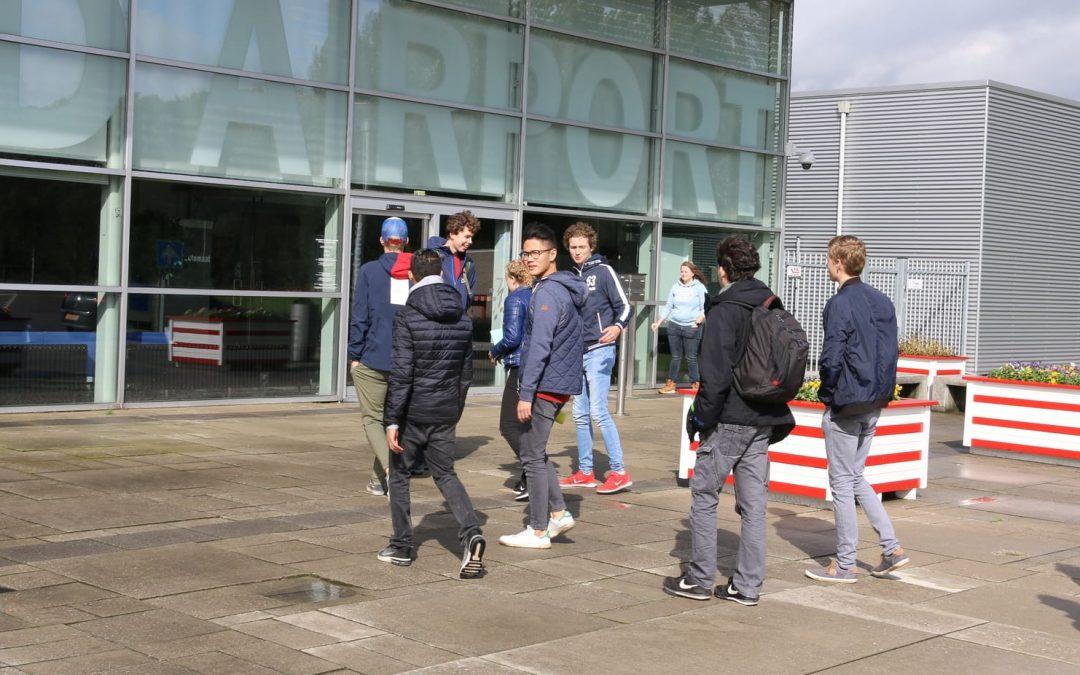 Studenten richten zich op duurzaamheid Lelystad Airport