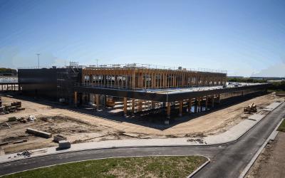 Dag van de Bouw 2018: nieuwe terminal op Lelystad Airport open voor breed publiek
