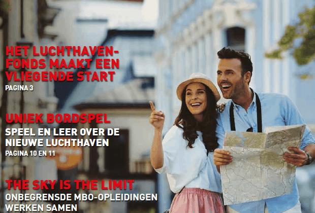 Flevolander krijgt Airportkrant in de brievenbus