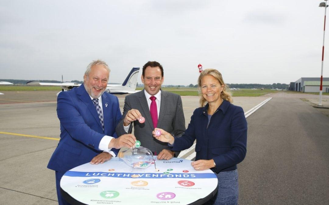 Luchthavenfonds draagt bij aan duurzame ontwikkeling en leefbaarheid