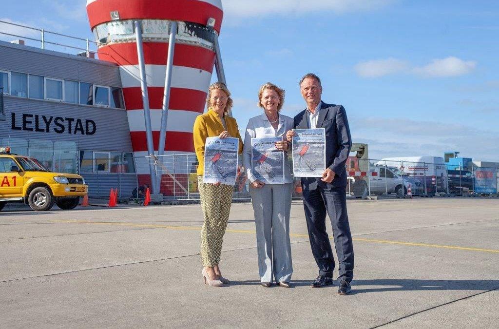 3e editie van Airportkrant verspreid over heel Flevoland