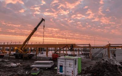 Bouw nieuwe terminal op schema