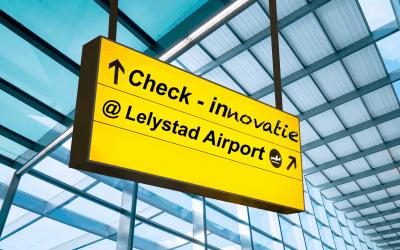 3 november infodag Lelystad Airport in teken van innovatie