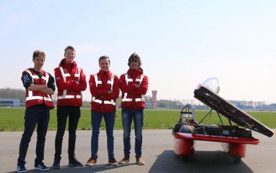 Solar Team Twente test op Lelystad Airport